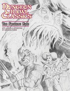 Croaking Fane sketch cover