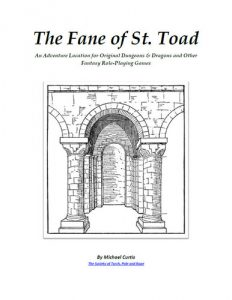 The Fane of St. Toad