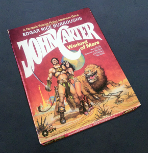 SPI's John Carter Warlord of Mars game (1979).