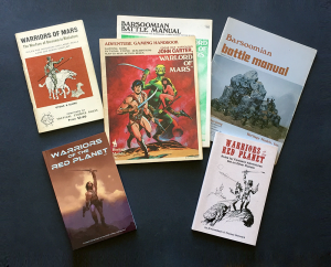 Gaming on Barsoom through the years, from 1974 until today.