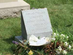 Lovecraft's Grave