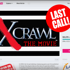 Last Chance to Pledge for the Xcrawl Movie!