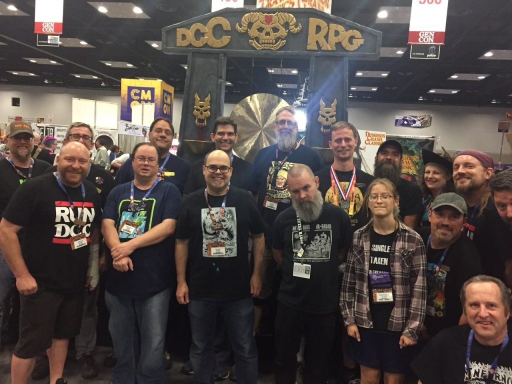 8-Keith and the Goodman Gang at Gen Con 2017