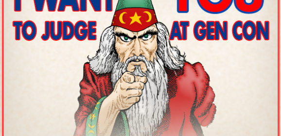 We Want You…To Judge At Gen Con 2020!