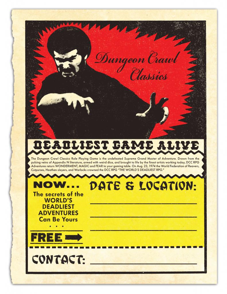 Count Dante DCC Flyer 2018 print