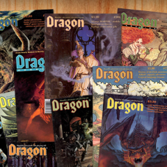 Vintage Dragon Magazine Free With Order From Our Online Store!