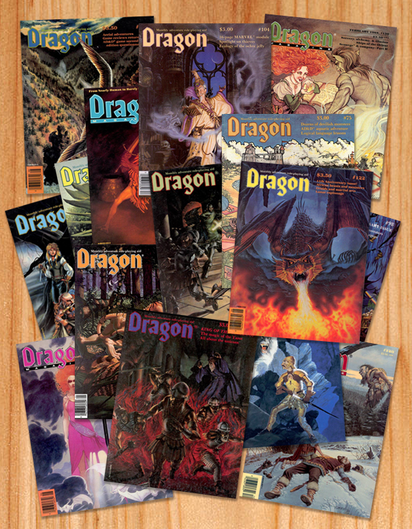 Dragon-magazines