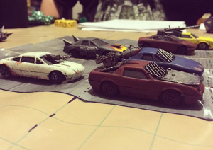 With a little modification, cheap die-cast cars are ready for the apocalypse!