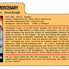 G.G. Joe File Card: Sourdough