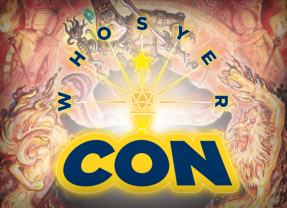 Visit Us at Whosyercon This Weekend!