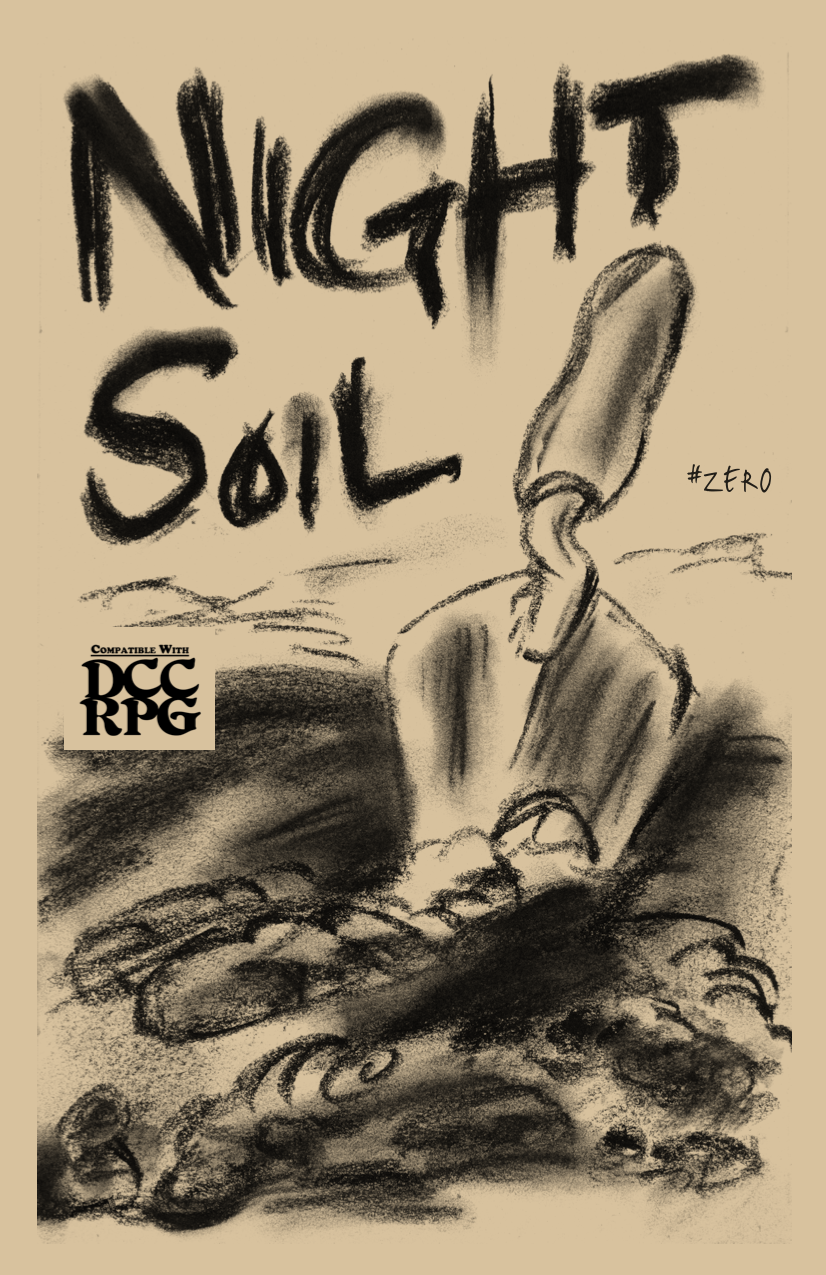 NIGHT SOIL zero COVER IMAGE