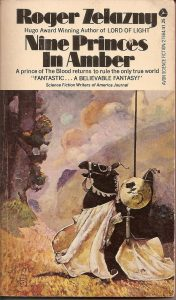 roger zelazny - Nine Princes in Amber - jeff-jones