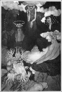 Sidney Sime Gods of Pegana