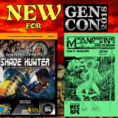 Gen Con 2018: New Releases, Round Five