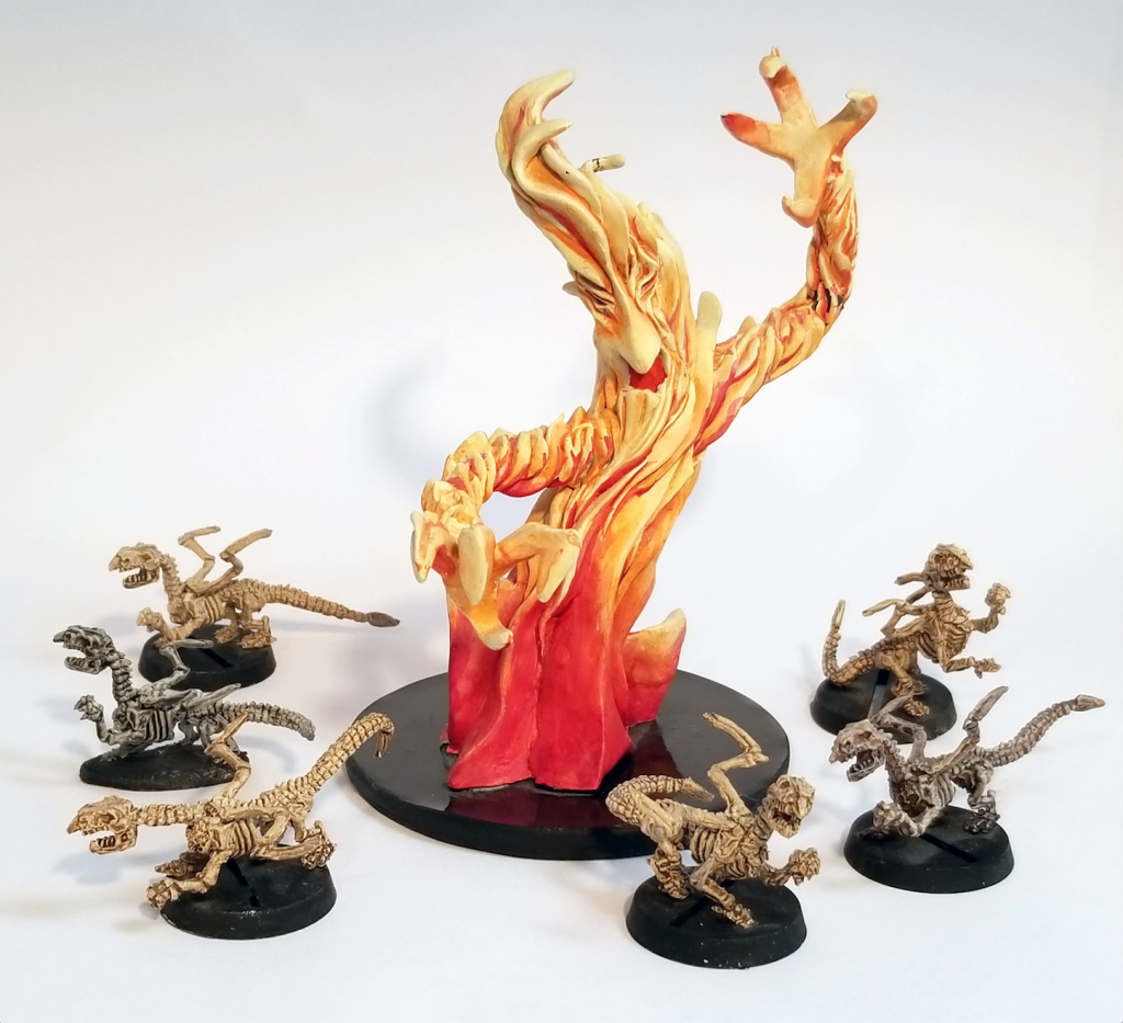 Elemental Skeletons