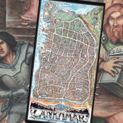 The Doug Kovacs Map of Lankhmar