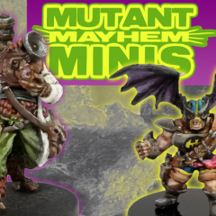 Mutant Mayhem Minis Kickstarter Is Live!