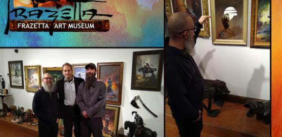 Real Life Adventures: Doug and Wayne Visit the Frazetta Museum