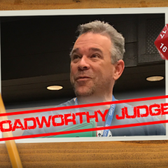 Roadworthy: Judge Dave Baity!