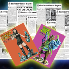 New In Our Online Store: Goodman Games Gazette and Extra Slipcases