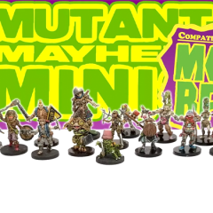New in the Online Store: Mutant Mayhem Miniatures!