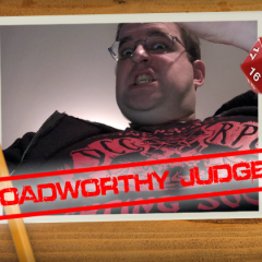 Roadworthy: Judge Tom Fritchman!