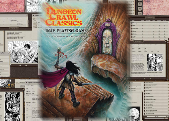 DCC RPG Officially Available on Fantasy Grounds|Goodman Games