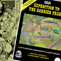 Expedition to the Barrier Peaks Now Available for Pre-Order!
