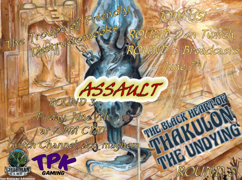 The Troupe of Friendly Destructomooks ASSAULT The Black