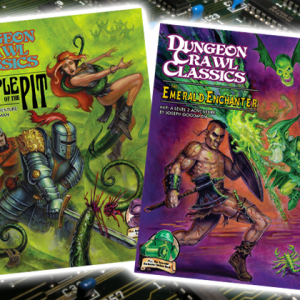 New Fantasy Grounds Releases: DCC68 and DCC69