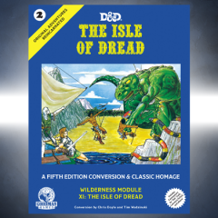 Retailers, Isle of Dread is Back in Stock!