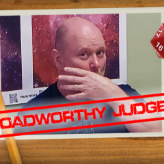 Roadworthy: Judge Daniel Vance!