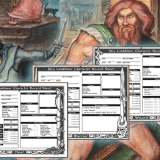DCC Lankhmar Character Sheets!