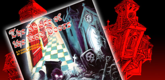 Last Chance for The House of The Red Doors Kickstarter!