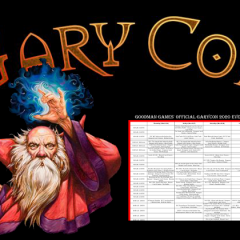 Gary Con Event Grid Posted!