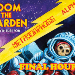 Final Hours For Doom on the Warden Kickstarter!