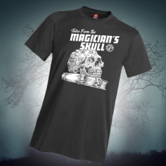 New In Our Online Store: T-Shirts Of The Magician's Skull!