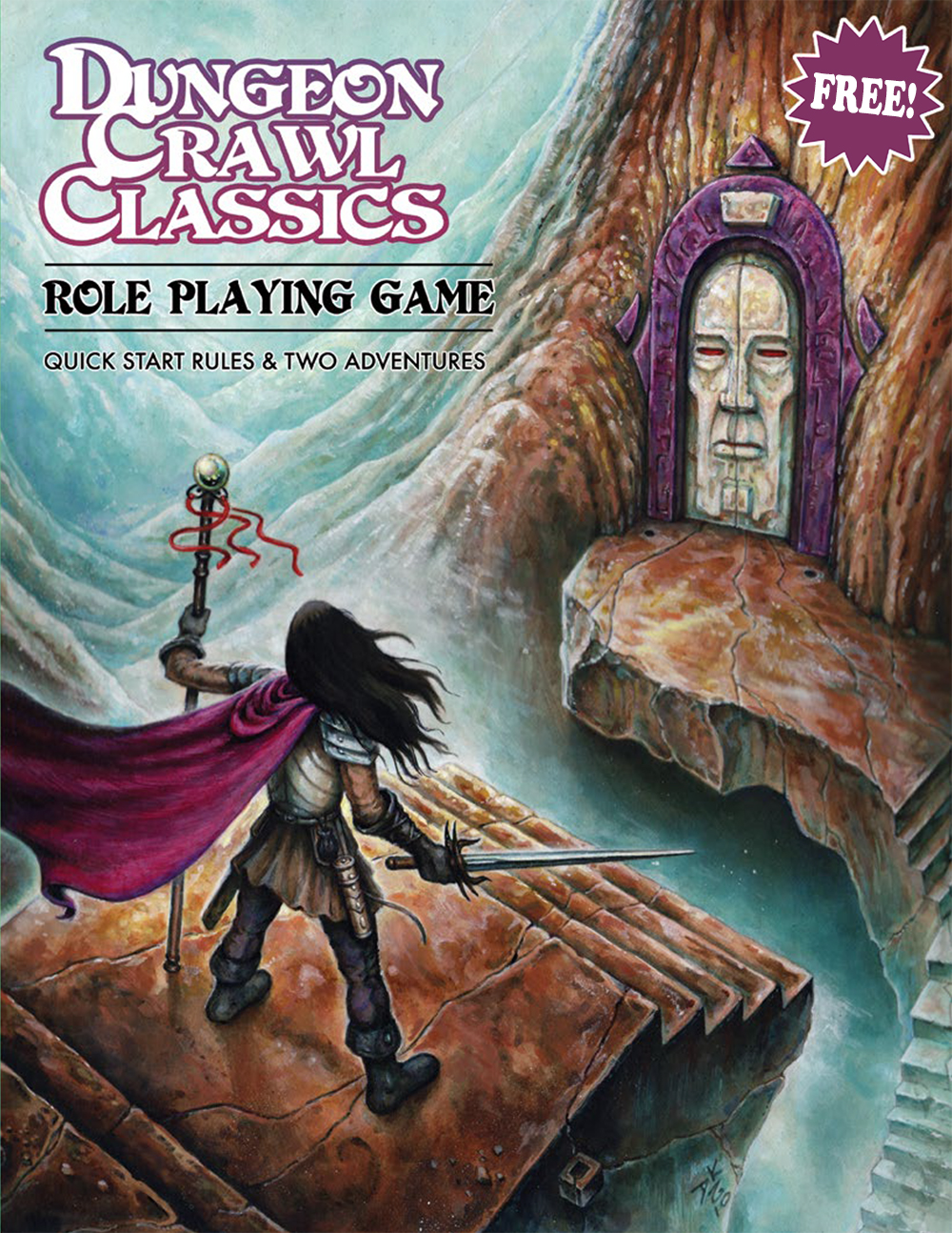 Free DCC RPG Quick Start Rules
