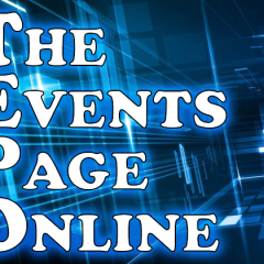 Events Page Defaults to Online Games