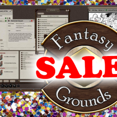Special Sale! Our Fantasy Grounds Titles Are 20% Off!