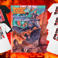 New in the Online Store: Clash of Giants Tees and Exclusive Adventure Module!