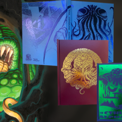 Photos of The Cthulhu Alphabet