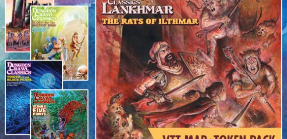 New In The Online Store: DCC Lankhmar #11 with VTT Support, plus Convention Specials!