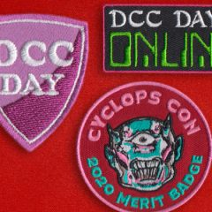 New Road Crew Patches For DCC Day and Cyclops Con Participation!