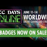 DCC Days Online Badge Sales Start Today!