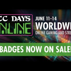 DCC Days Online Badge Sales Start Today!