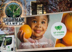 Goodman Games Donates $1,700 to SF-Marin Food Bank