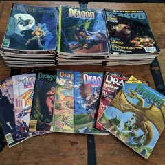 Vintage Dragon Magazine Free with $25 Order