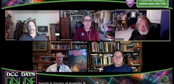 DCC Days Online Seminar: Sword & Sorcery of Appendix N