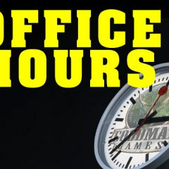 DCC Office Hours On Twitch Today!
